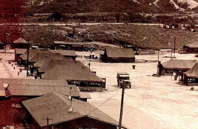 Camp Stanley Korea  Tent City 1954