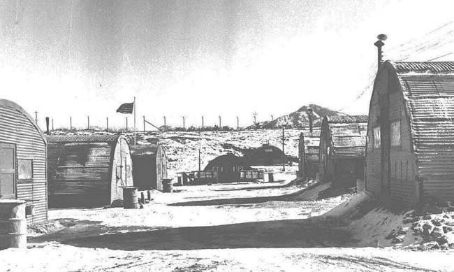 Camp Stanley Korea Quonset Huts 1955